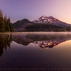 Sparks lake durin sunraise, Oregon ,USA
