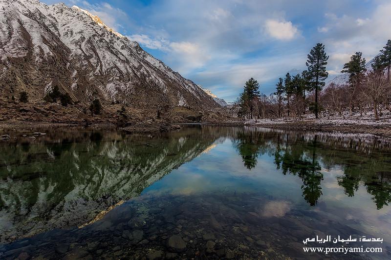 "Upper Naltar lake ""Pakistan""."