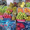 Fruit market in Sanya, Hainan China by kstellick