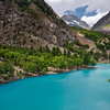 "Upper Naltar lake ""Gilgit-Pakistan"""