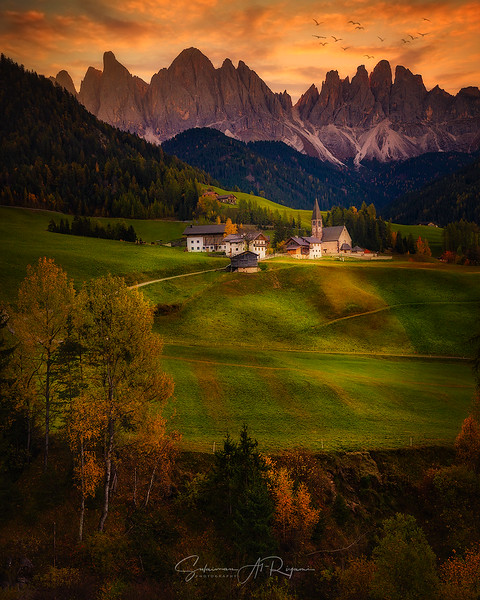 Val Di Funis, Dolomites