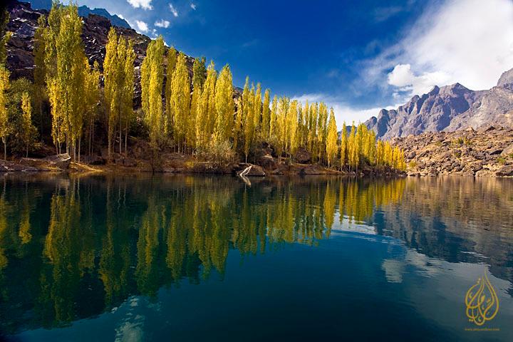 "Upper Kachura lake, Skardu ""North Pakistan"""