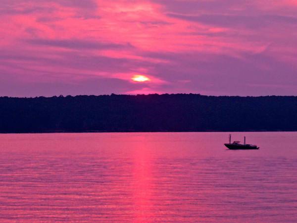 Higgins Lake @ Sunset 2