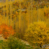 "Hunza valley during autumn season ""Pakistan""."