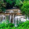 "Hua Mae Khamin Waterfalls, Kanchanaburi ""Thailand"""
