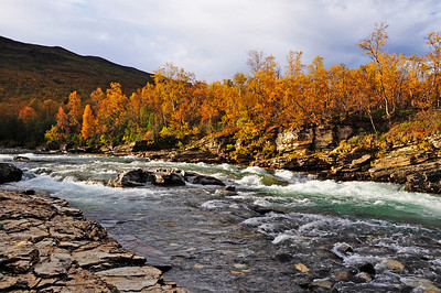 Abisko Nationalpark in north of Sweden