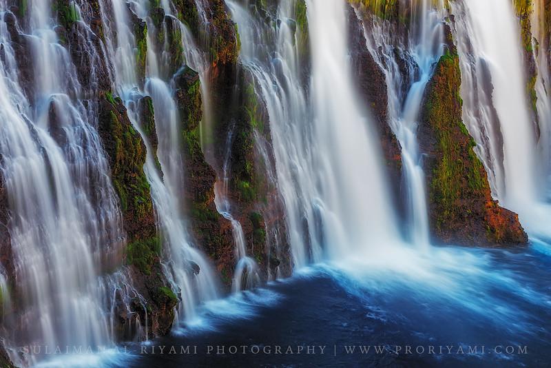 Burny falls