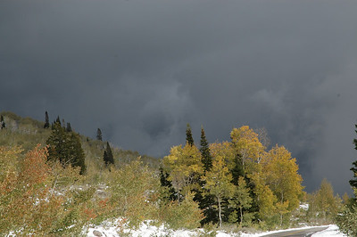 gathering storm, logan canyon, utah