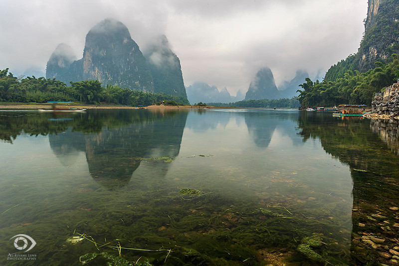 Li River, Yangshuo, Guanxi, China