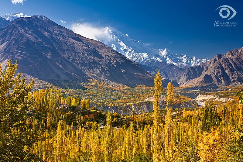 """Hunza valley, Karimabad, North Pakistan """"Autumn 2009"""""""