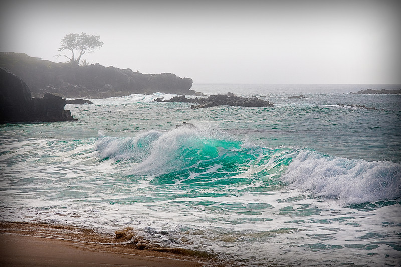 """Aqua""  - North Shore - Oahu, Hawaii."