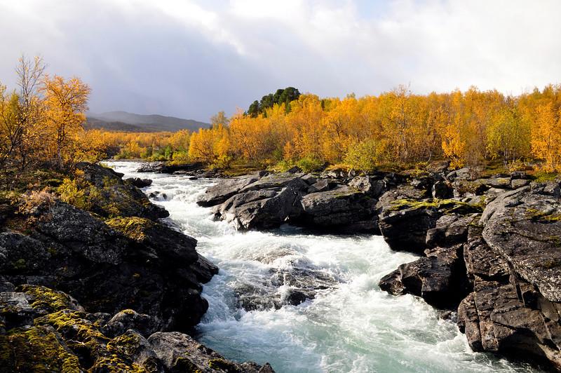 Abisko river