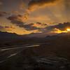 Wadi Hawsna sunset