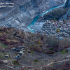 Arial shot of Altit village,Hunza-Pakistan