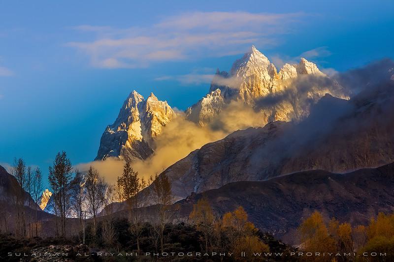 From Karakoram mountain range, North Pakistan