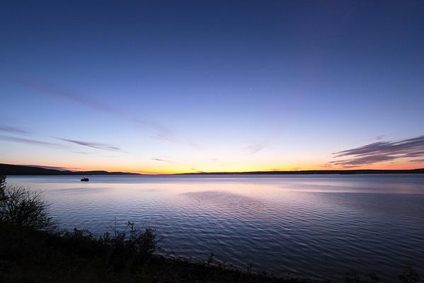 Sunrise in Digby, NS
