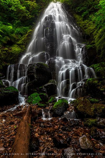 Fairy falls (in the range of Wakeenah falls), Oregon, USA