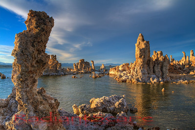 Mono Lake Sunset, Lee vining, California