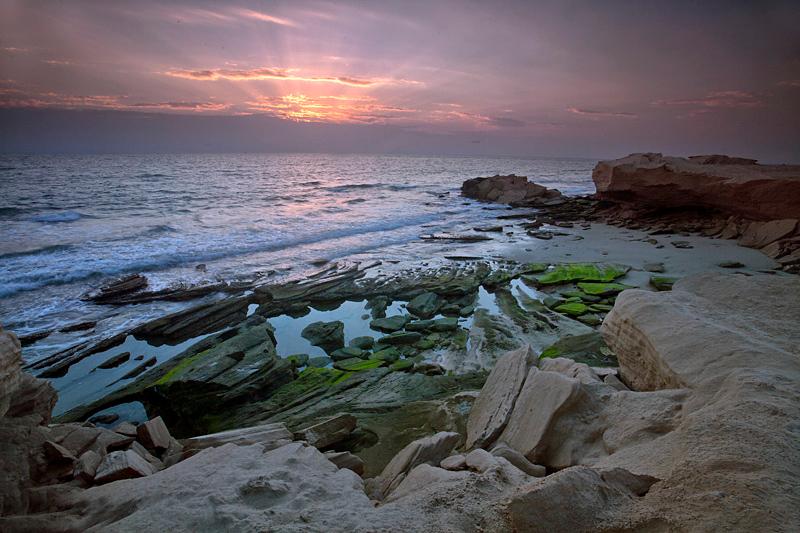 "From Ras Ruwais, Arabian sea ""Oman"""