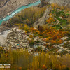 "Altit village in autumn, Hunza ""Pakistan""."