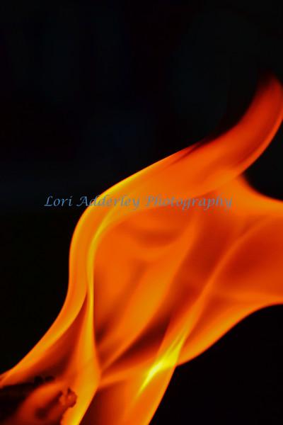 Study of a Flame III