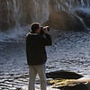 Tom taking pictures at Little Falls