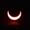 Solar Eclipse - Tucson Arizona May 20, 2012 : Phase 11 The Smiling Phase....<br /> Image captured with an Infra Red filter on a 400mm lens attached to the Nikon D800 mounted on a tripod and triggered via remote control. Dove Mountain area Northwest Tucson.