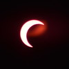 Solar Eclipse - Tucson Arizona May 20, 2012 : Phase 4<br /> Image captured with an Infra Red filter on a 400mm lens attached to the Nikon D800 mounted on a tripod and triggered via remote control. Dove Mountain area Northwest Tucson.