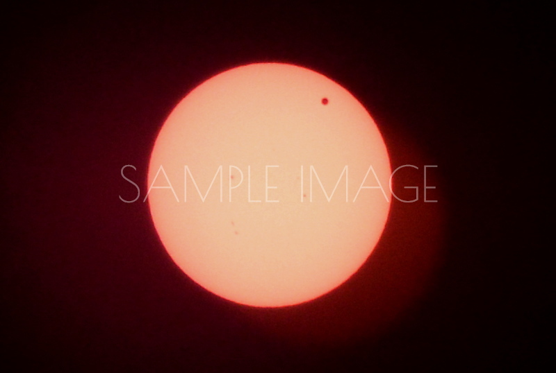 Venus Eclipse. Tuesday June 5, 2012 Tucson Arizona, USA (hover over the image on the right to see the exact time). Camera used: Nikon D800. Lens: 70-200mm F2.8. Sun Spots can be seen in the image.