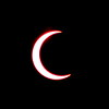 Solar Eclipse - Tucson Arizona May 20, 2012 : Phase 8<br /> Image captured with an Infra Red filter on a 400mm lens attached to the Nikon D800 mounted on a tripod and triggered via remote control. Dove Mountain area Northwest Tucson.