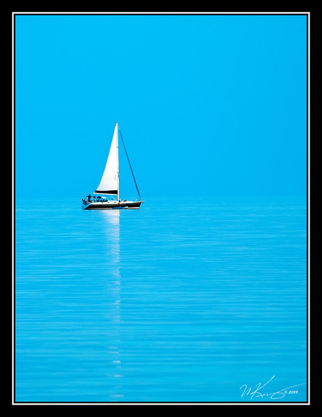 Boat In The Blue