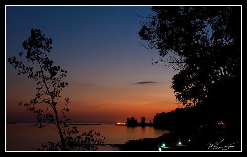 The Final Glow Before Nightfall.