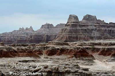 Badlands NP, SD July 15, 2013