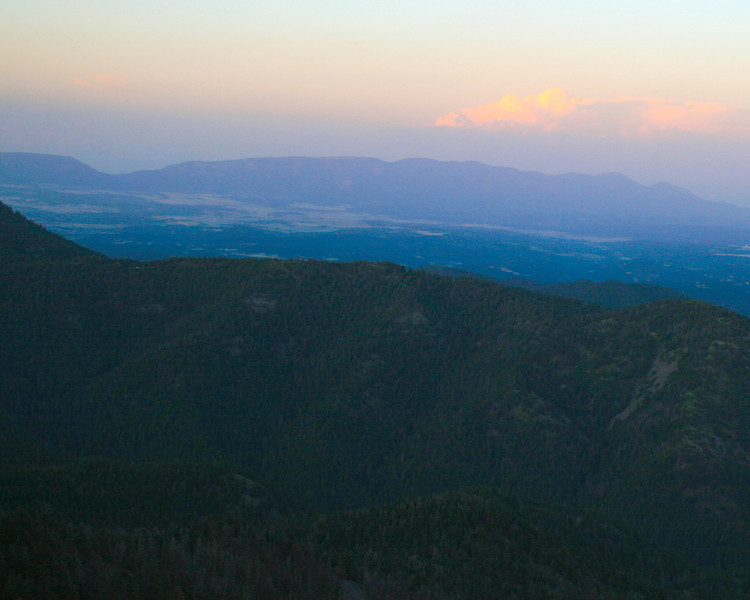 Sunset from Sierra Blanca