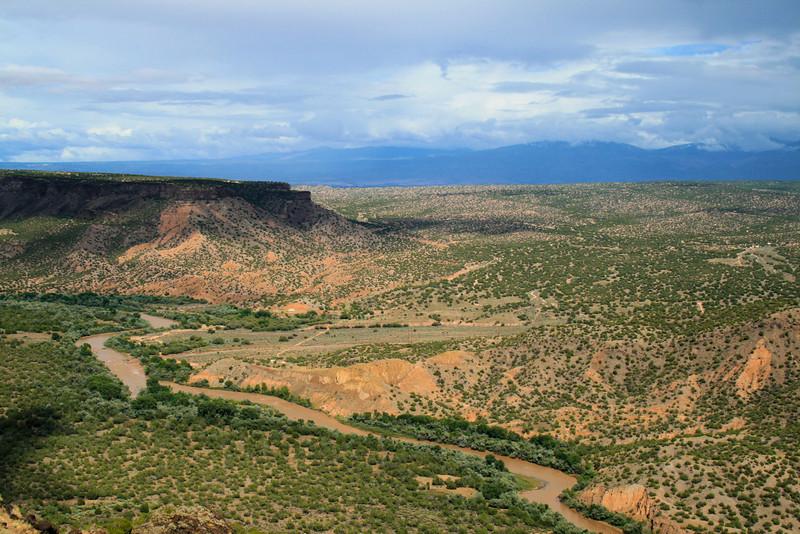 Rio Grande Valley in New Mexico