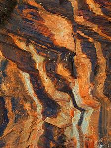 "Canyon Wall ""Stripes"" (West Fork Trail, Oak Creek, Sedona)"