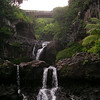 The Ohe'o Gulch, or Seven Sacred Pools just outside the small Hawaiian town of Hana. Photograph taken in Haleakala National Park, Maui, Hawaii.