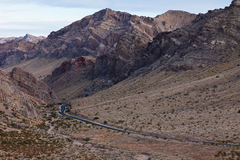 Nevada Highway 169 connects Valley of Fire State Park with Interstate 15 north of Las Vegas.