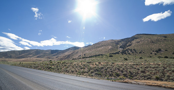 U.S. Route 395 in Nevada, somewhere south of Minden