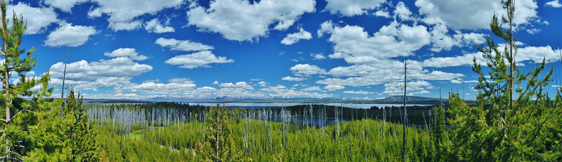 #Pano Duck Lake Overlook YNP