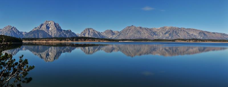 #Pano Tetons Jackson Lake