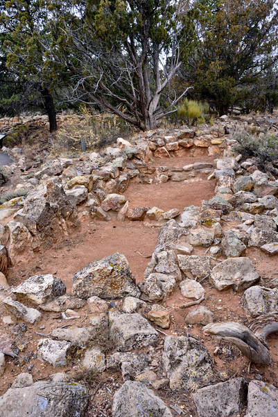 AZ-GCNP-Tusayan ruins 2017.11.29#245. Storage rooms. Grand Canyon Nat. Park, Arizona.