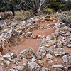 AZ-GCNP, Tusayan ruins, storage rooms. Grand Canyon, Arizona. #1129.245.