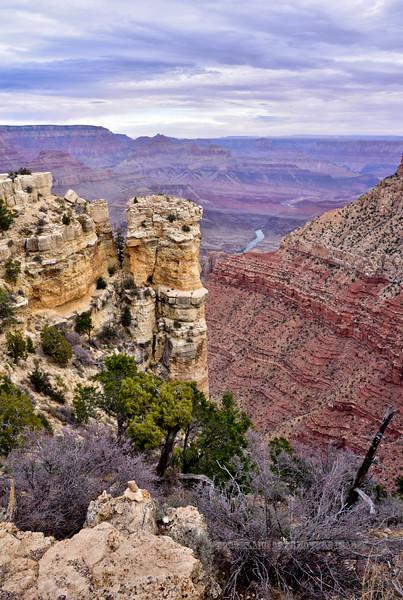 AZ-GCNP, Grand Canyon, Arizona. #1129.259.