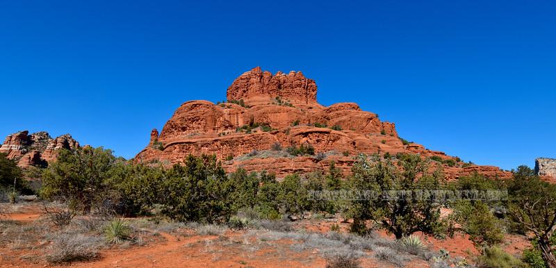 Bell Rock. 2020.2.13#4222.3. Red Rock Country near Oak Creek, Arizona.
