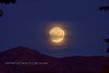2020.10.30#5650.2. The Eve of the Halloween Blue Moon rise in Prescott Valley Arizona.