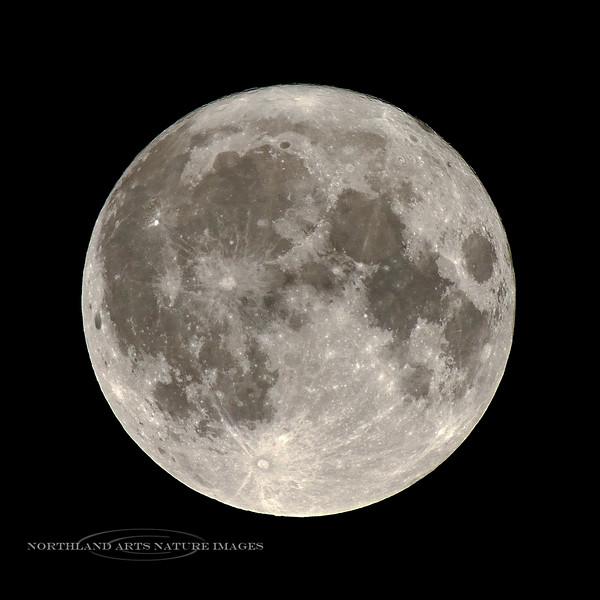 Friday the 13th Moon. 2019.9.13#005.3. Viewed from Prescott Valley Arizona.