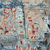 Rock Art-MT, Pictographs. Montana. #517.1409.