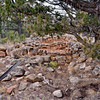 AZ-GCNP-Tusayan ruins 2017.11.29#251. Living & storage rooms. Grand Canyon Nat. Park, Arizona. Occupied 1185 A.D.
