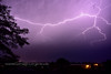 AZ-2017.7.29#111 Typical Monsoon Lightning. Captured from my Patio, Prescott Valley, Arizona.
